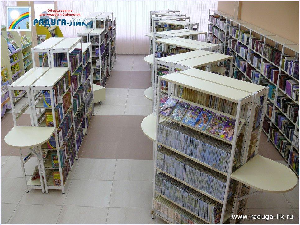 Стеллажи в библиотеку.